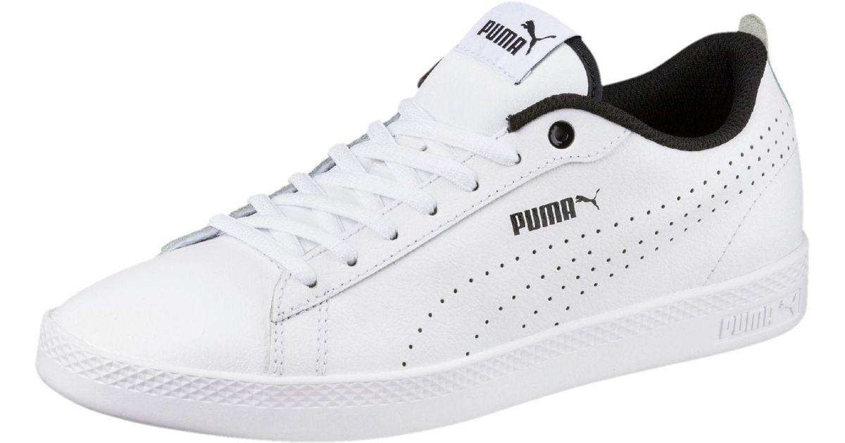 c9d9093df5a Lyst - PUMA Smash V2 L Perf Women s Sneakers in White
