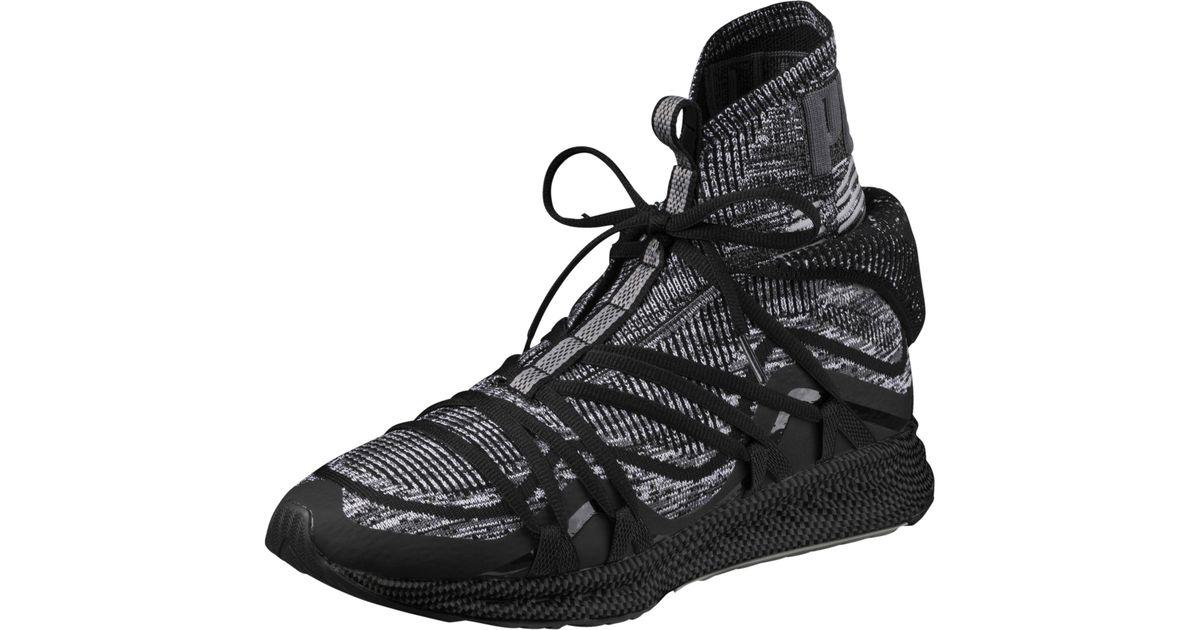 3a842e798f5f9d Lyst - PUMA Ignite Evoknit Fold Men s Sneakers in Black for Men