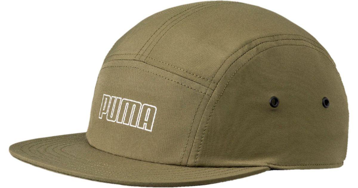 Lyst - PUMA Archive 5-panel Hat in Green for Men cc0e697f508e