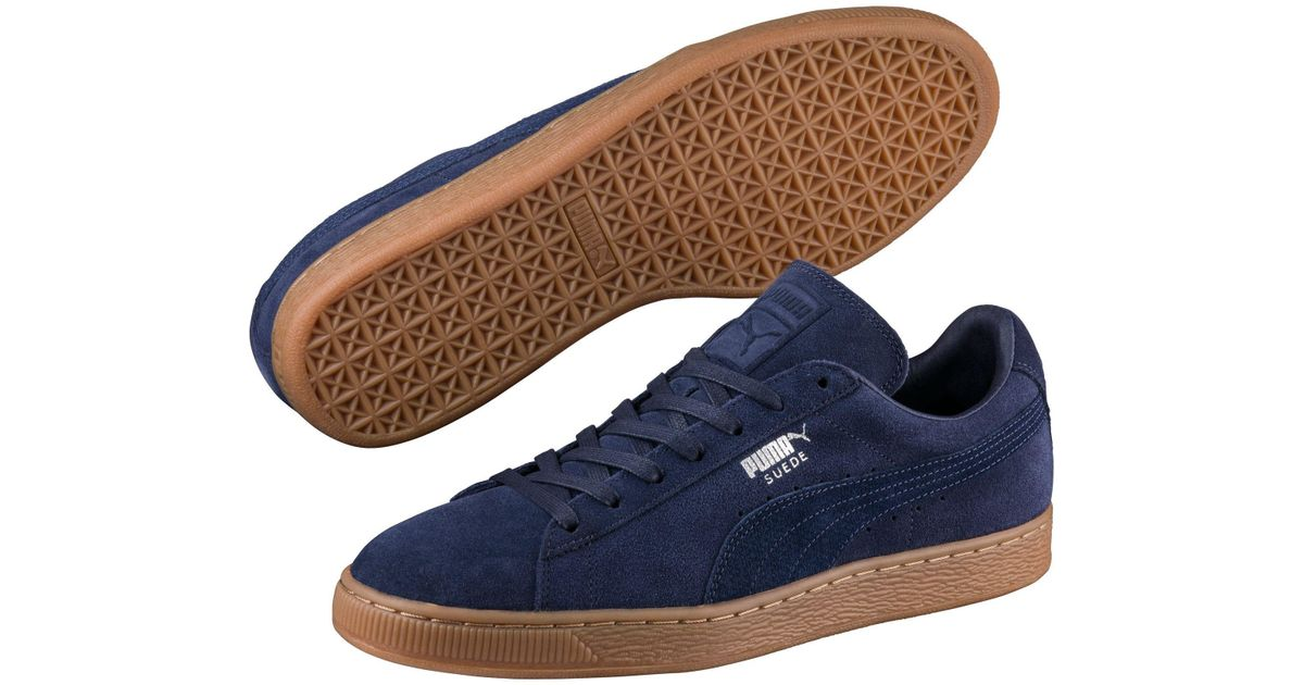 ... Lyst - Puma Suede Classic Citi Men s Sneakers in Blue for Men ...