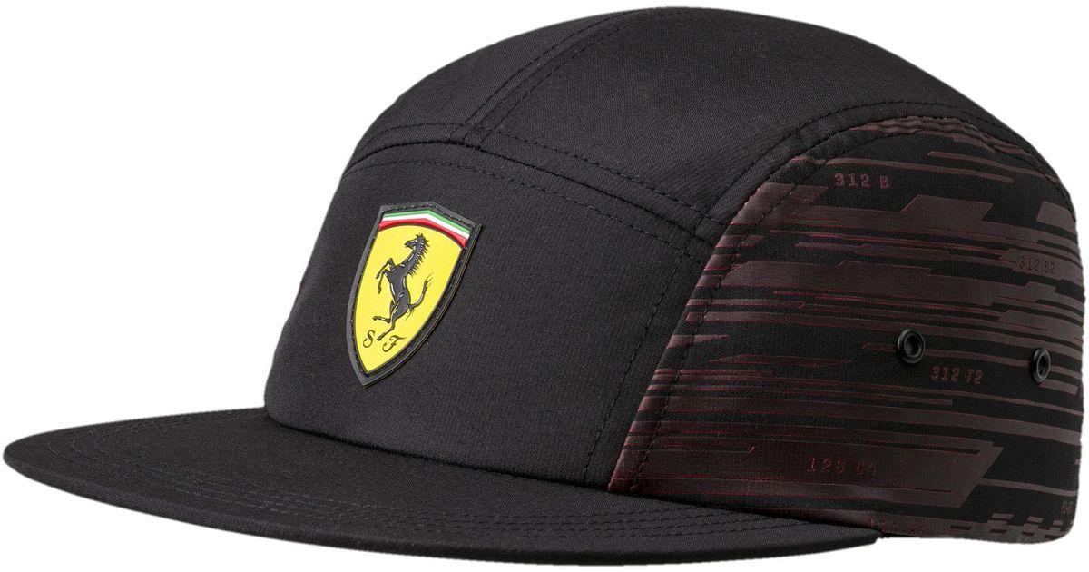 d809f43864f6f ... where to buy lyst puma ferrari transform hat in black for men 559e6  2c9b7
