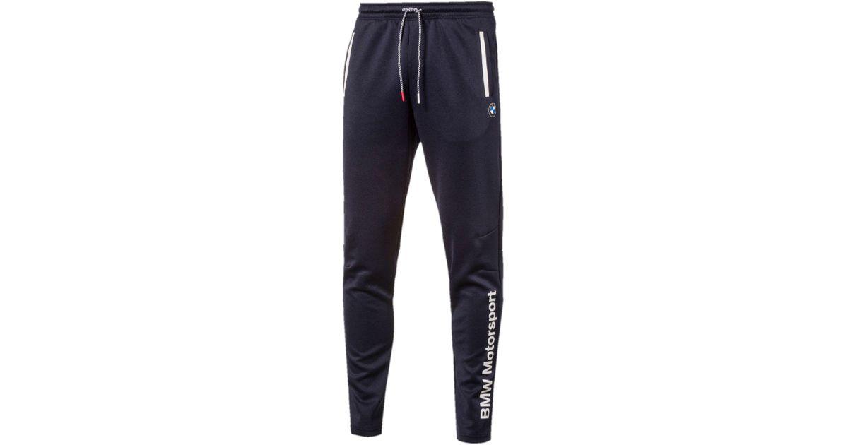 b0f5bb6c1c17 Lyst - PUMA Bmw Motorsport Men s Track Pants in Blue for Men