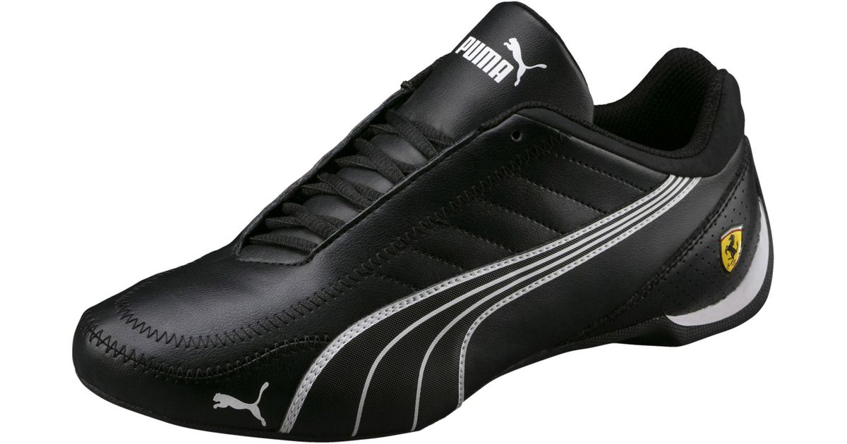 6f7c952bbd2617 ... get lyst puma ferrari future cart cat mens motorsport shoes in black  for men 2e883 c09ee