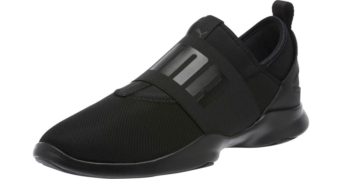 a9e303007 Lyst - PUMA Dare Women s Slip-on Sneakers in Black