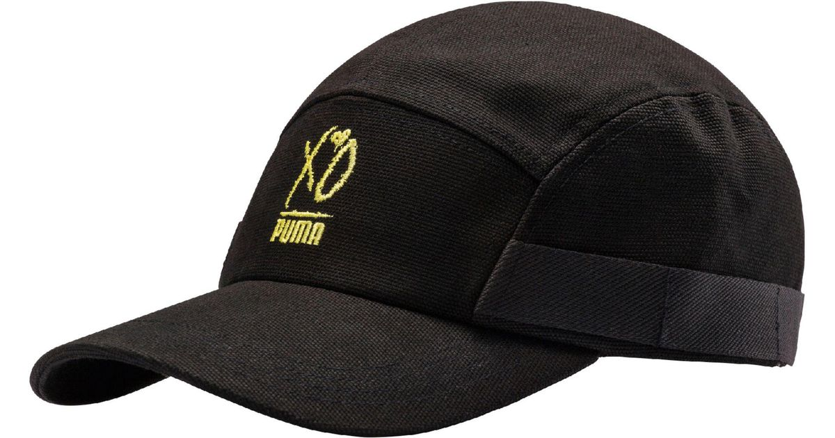 Lyst - PUMA X Xo Canvas Cap in Black for Men 4bec29adebc3