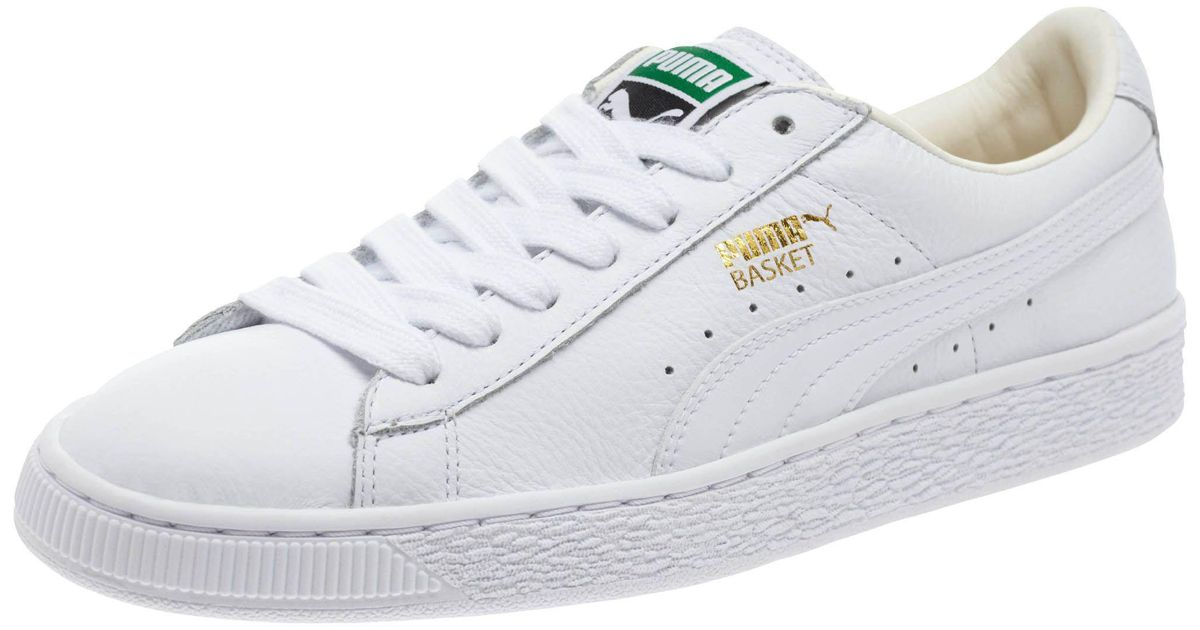 8335abd51ac5 Lyst - PUMA Basket Classic Lifestyle Women s Sneakers in White