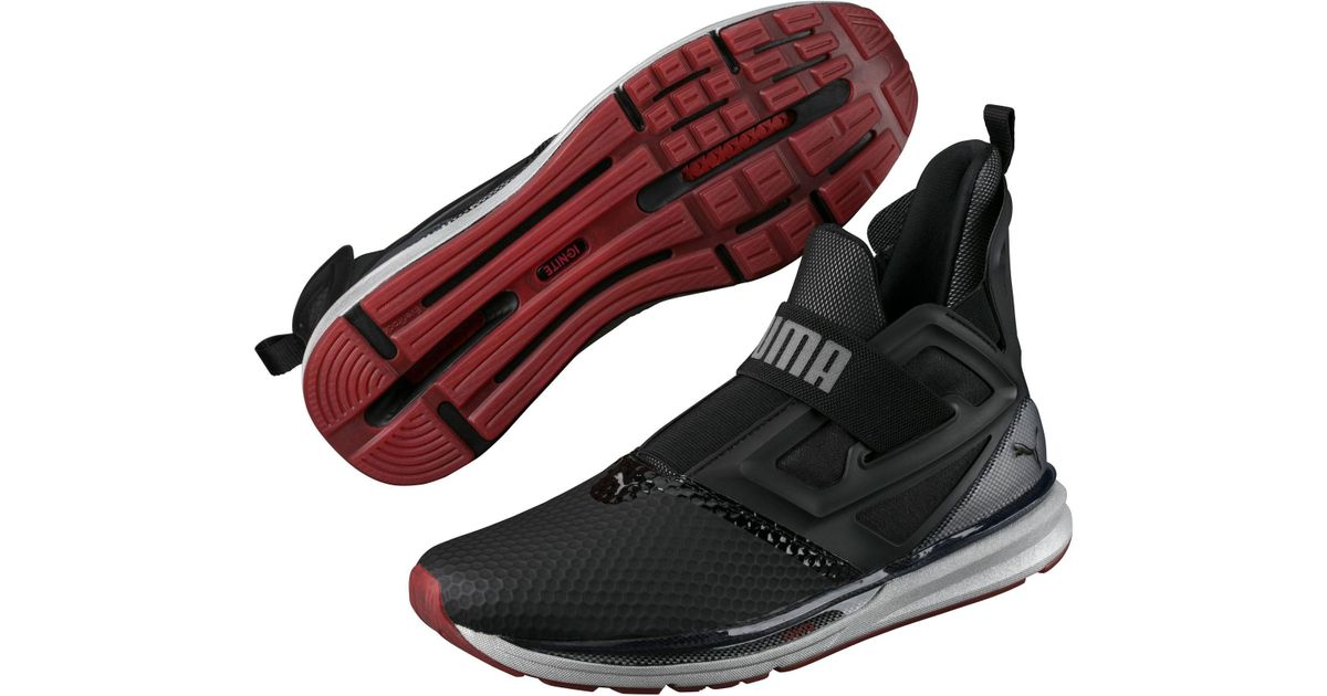 dd46a9387c1eec Lyst - PUMA Ignite Limitless Extreme Hi-tech Men s Training Shoes in Black  for Men