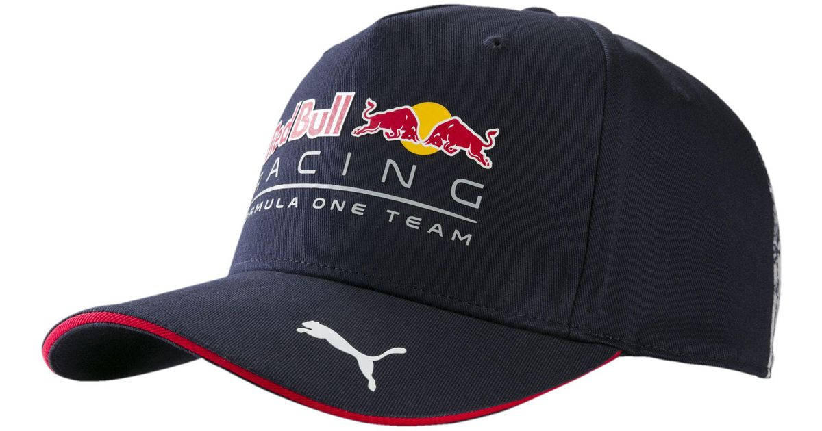 Lyst - PUMA Red Bull Racing Replica Team Hat in Blue for Men afd619d6fa0