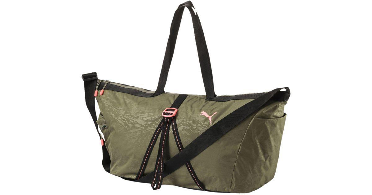 Lyst - PUMA Active Training Workout Bag 1cab3d0352061