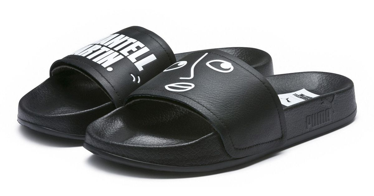 5c9828c3e46811 Lyst - PUMA X Shantell Martin Leadcat Women s Slides in Black