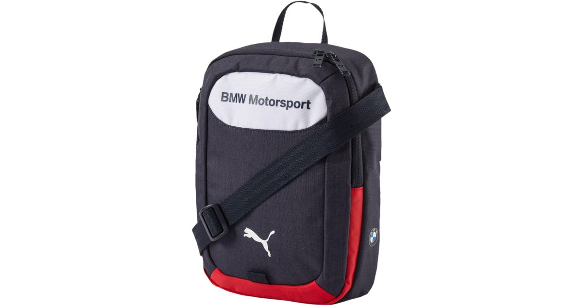 Lyst - PUMA Bmw Motorsport Shoulder Bag in Blue for Men d38f19f7660d6