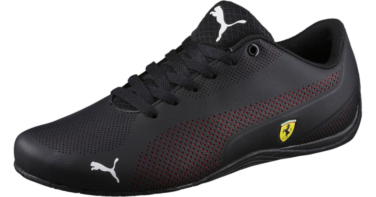 0b7a9138d26b ... sale lyst puma ferrari drift cat 5 ultra sneakers in black for men save  40.0 75557