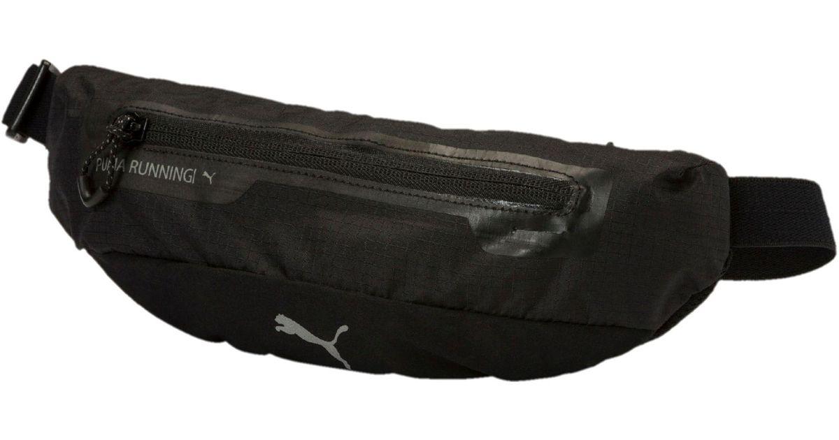 7ee1b25635171e Lyst - PUMA Running Classic Waist Bag in Black for Men