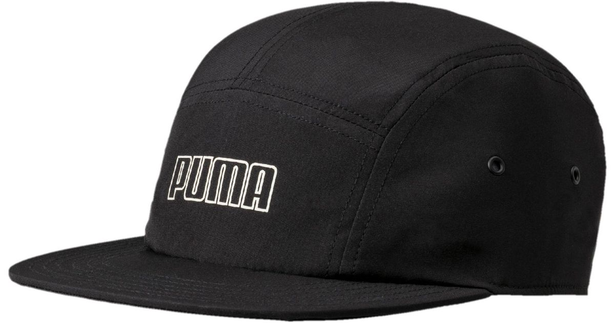 98a9797a PUMA Archive 5-panel Hat in Black for Men - Lyst