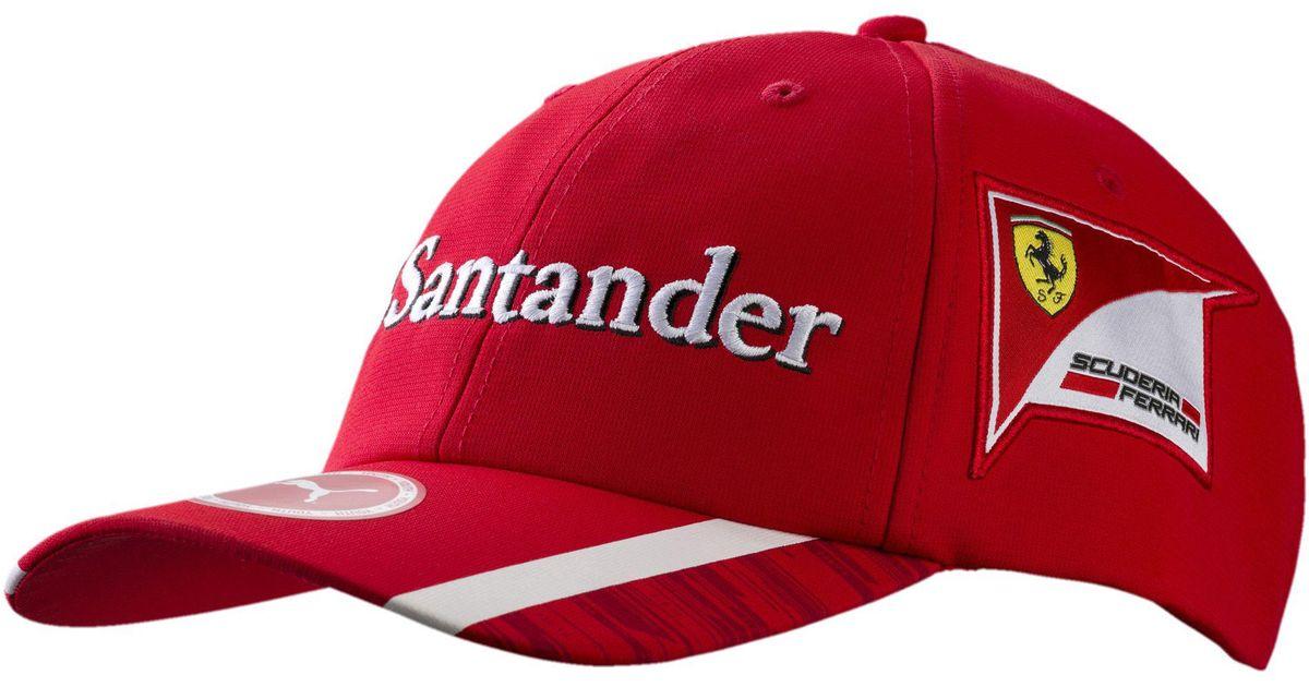 Lyst - PUMA Ferrari Replica Raikkonen Hat in Red for Men cdff2a8197ee