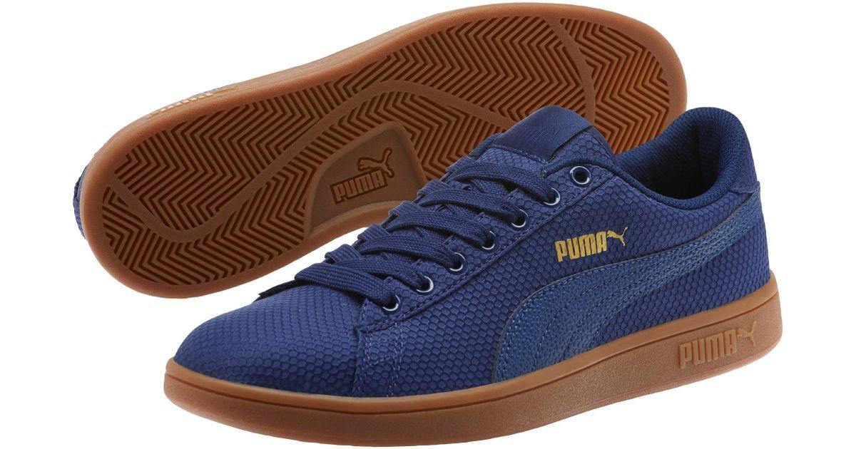 fcbb8a14ae41b2 Lyst - PUMA Smash V2 Ripstop Men s Sneakers in Blue for Men