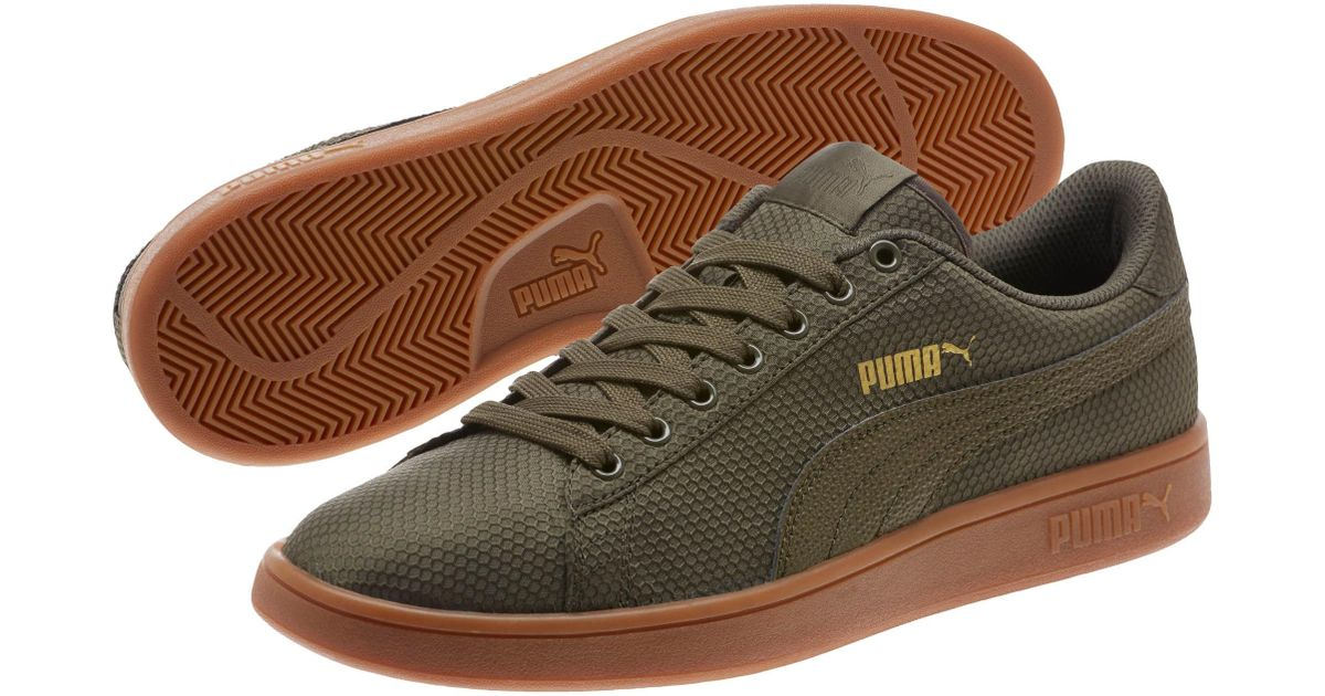 36888fb42ba428 ... where can i buy lyst puma smash v2 ripstop mens sneakers in green for  men 699f1