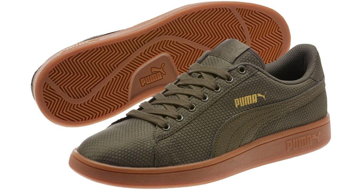 Lyst - PUMA Smash V2 Ripstop Men s Sneakers in Green for Men 8f430e414