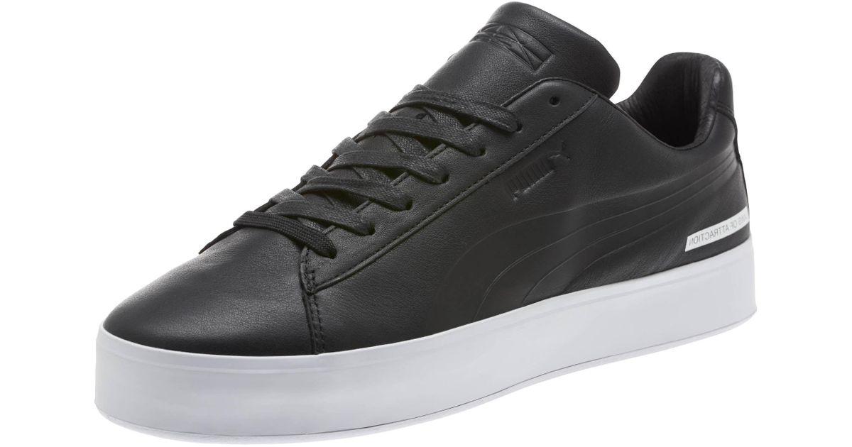 ad3618885d4 Lyst - PUMA X Black Scale Court Platform Men s Sneakers in Black for Men