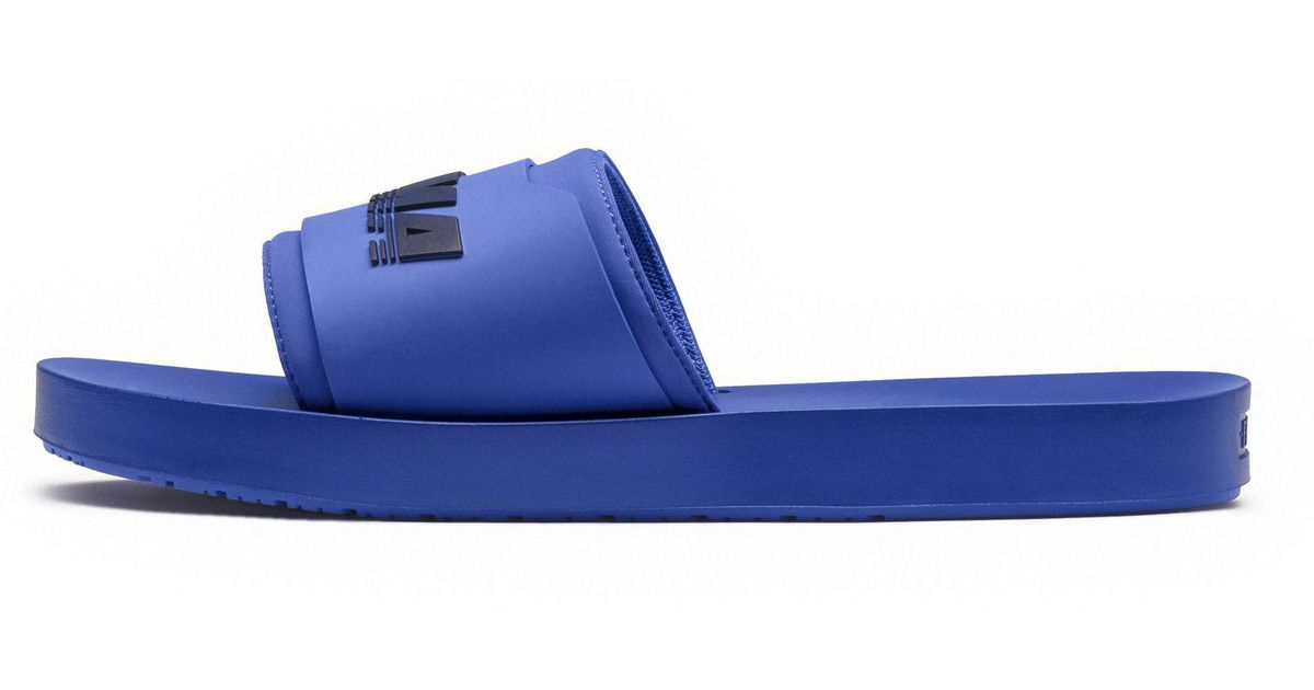 Lyst - PUMA Fenty Surf Slide Mens in Blue for Men 25917e628