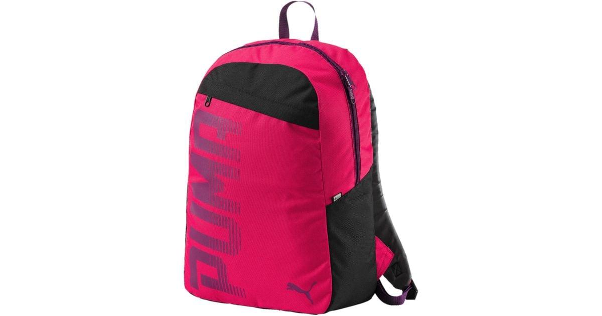 c1f6b4a478e PUMA Pioneer Backpack I in Pink - Lyst