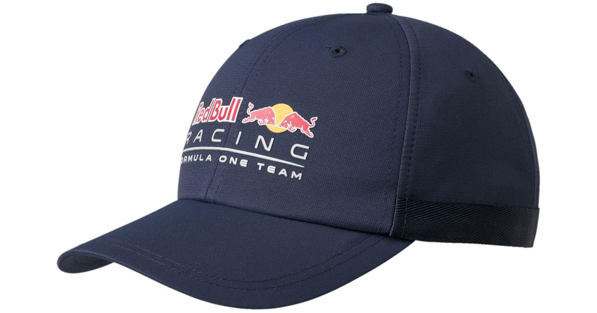 241fc8903fb Lyst - PUMA Red Bull Racing Lifestyle Hat in Blue for Men