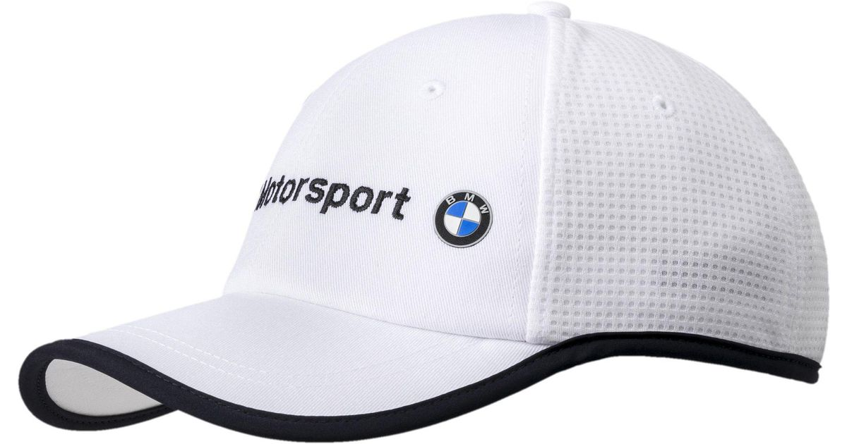 4a6d9e9c ... promo code for lyst puma bmw motorsport hat in white for men 9ee8c 561d4