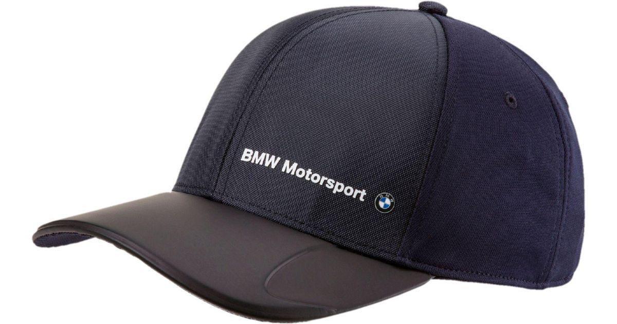 Lyst - PUMA Bmw Motorsport Speed Cat Evo Hat in Blue for Men 5878a4b43e5