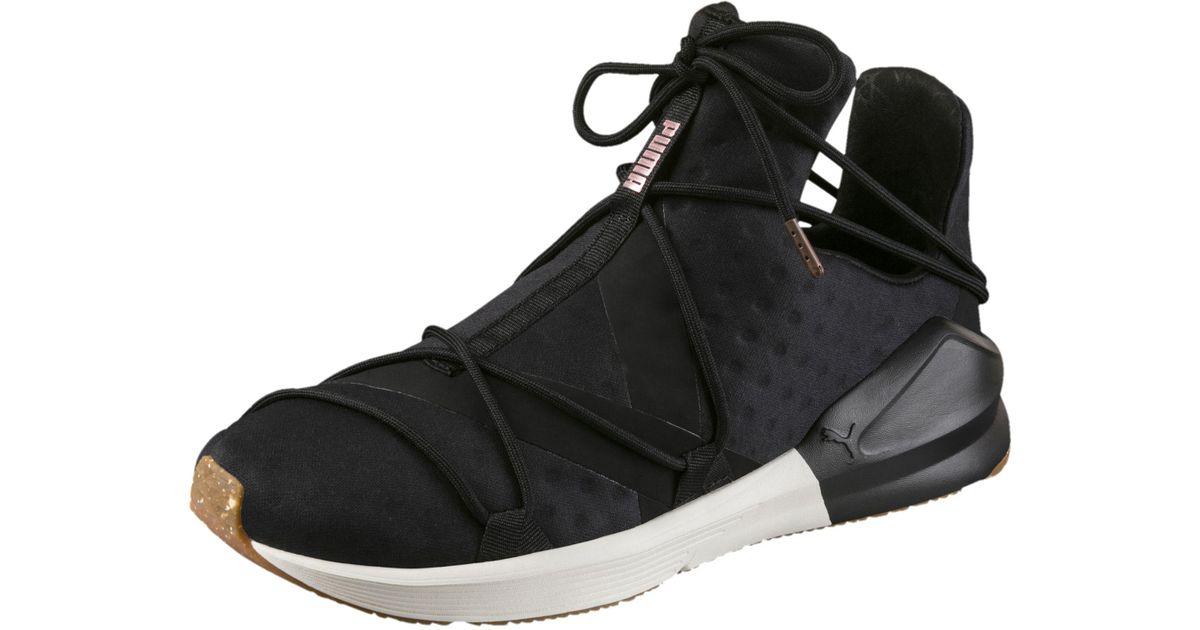 Lyst - PUMA Fierce Rope Vr Women s Training Shoes in Black 3d84ca837