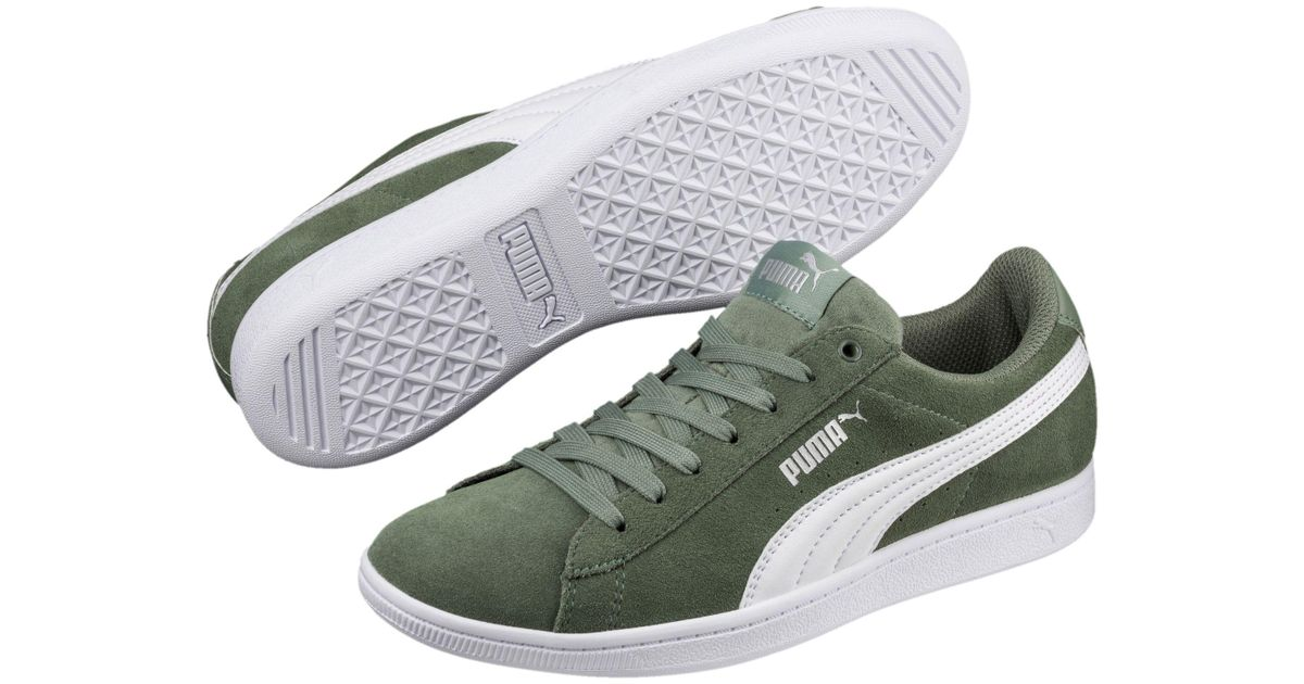 7ccd445eef4 Lyst - PUMA Vikky Softfoam Women s Sneakers in White