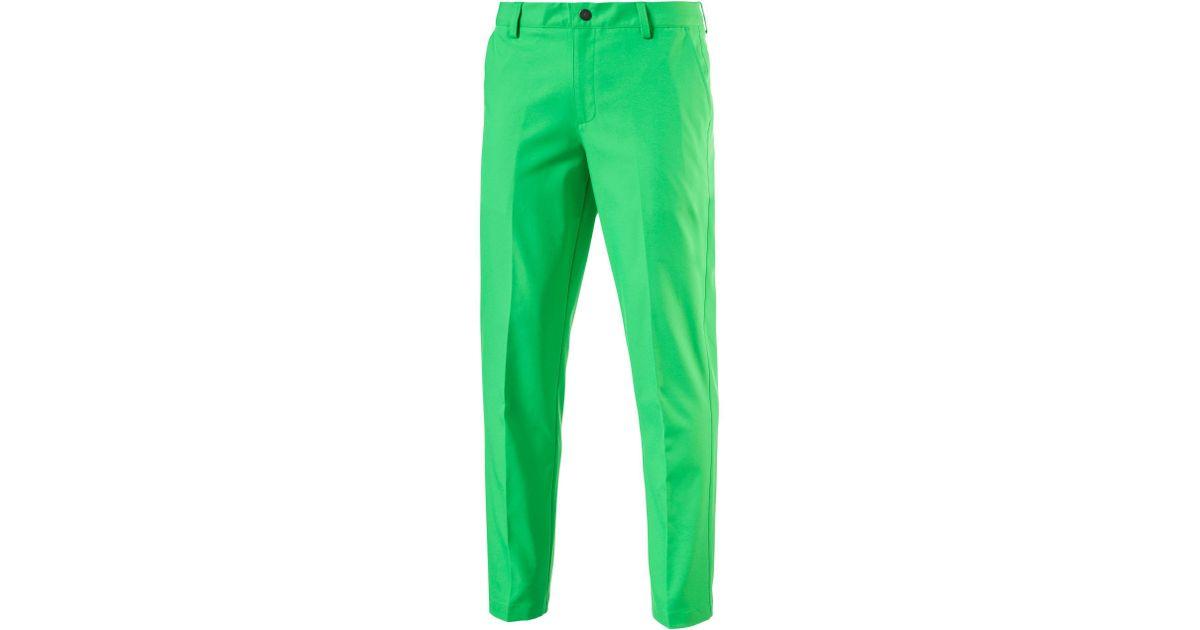1b09020300e9 Lyst - PUMA Tailored Tech Golf Pants in Green for Men