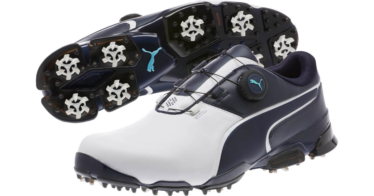 2e282fcaaea3a6 Previous Next b5405  check out Lyst - Puma Titantour Ignite Disc Men s Golf  Shoes for Men edfed eac22 ...