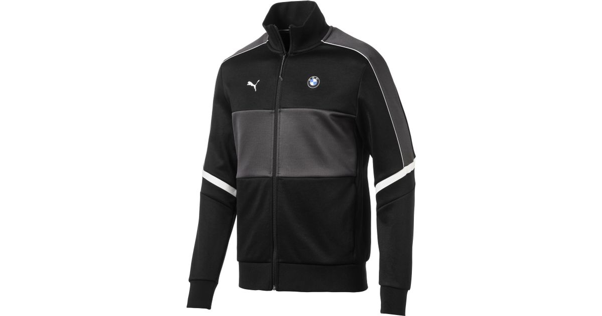 e7b17e93ebd4 Lyst - PUMA Bmw Mms Men s T7 Track Jacket in Black for Men