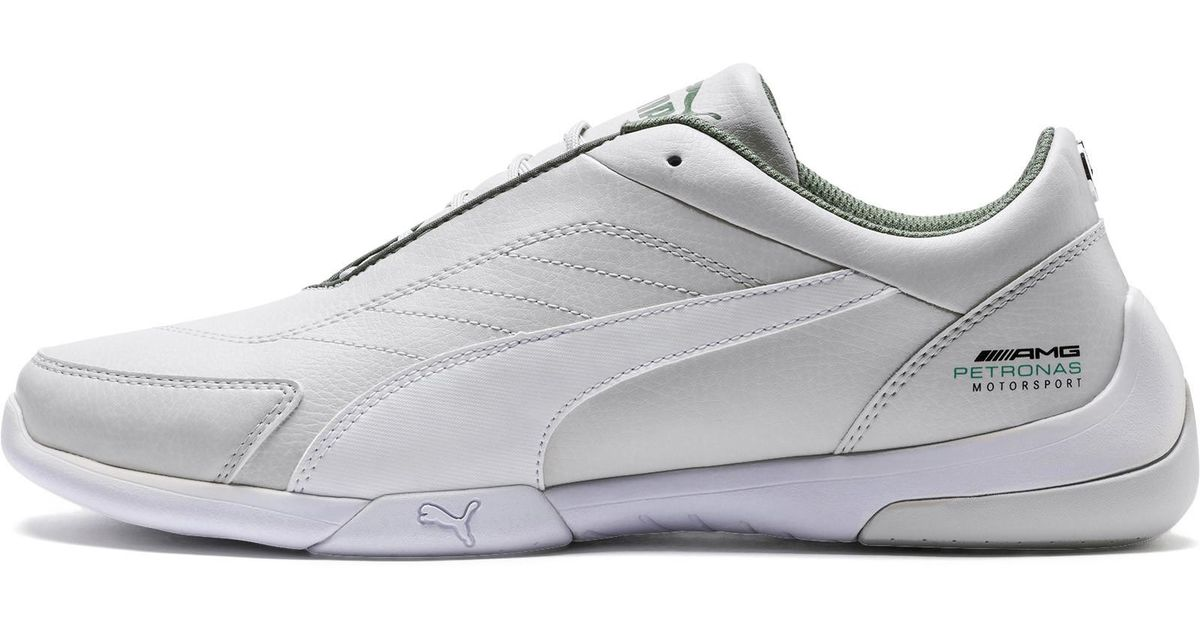 885cd8eff86 Lyst - PUMA Mercedes Amg Petronas Kart Cat Iii Sneakers in White for Men