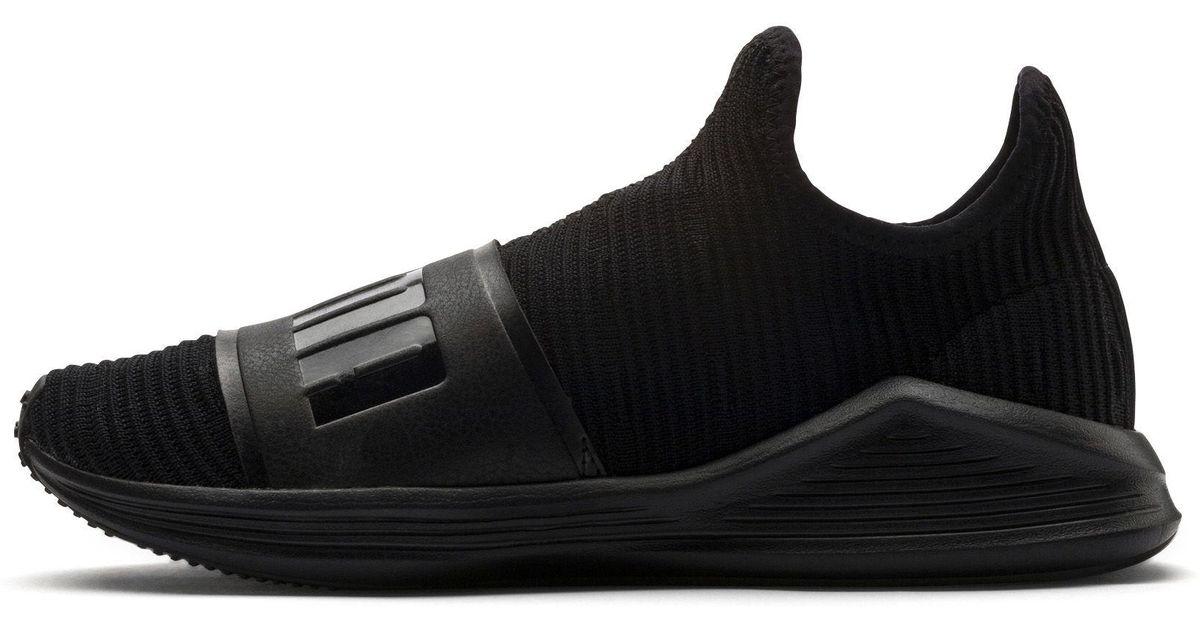 a63db5d5b1124 Lyst - PUMA Fierce Slide Women s Sneakers in Black