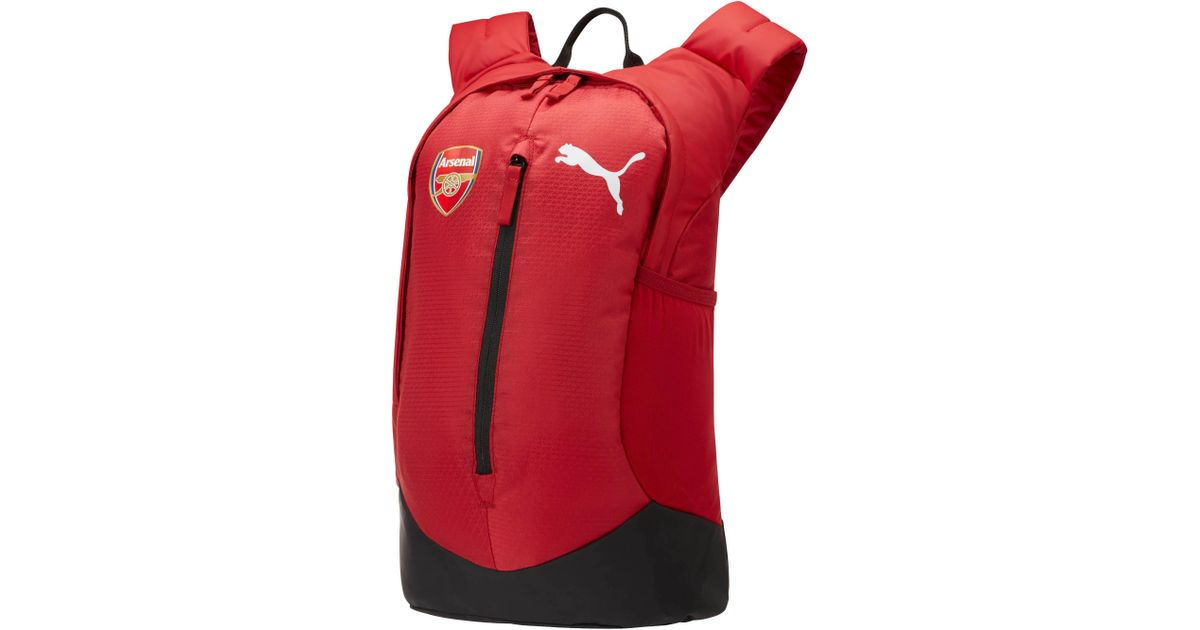 b9350c37176e Lyst - PUMA Arsenal Performance Backpack in Red for Men
