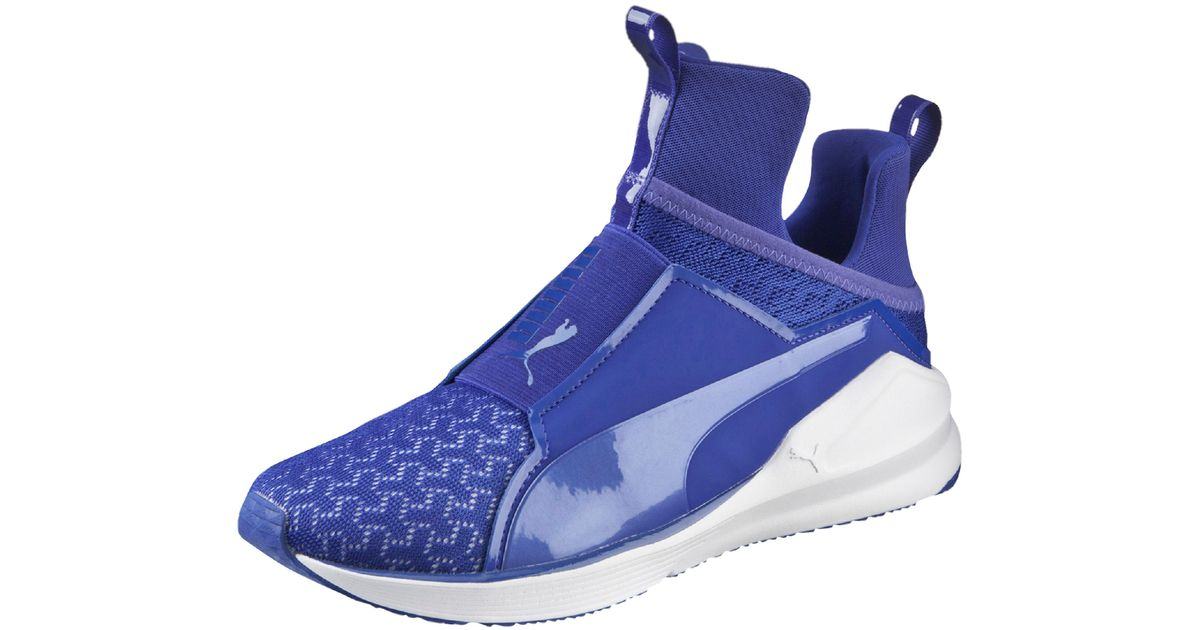 Lyst - PUMA Fierce Engineered Mesh Women s Training Shoes in Blue 688f035fd3b6