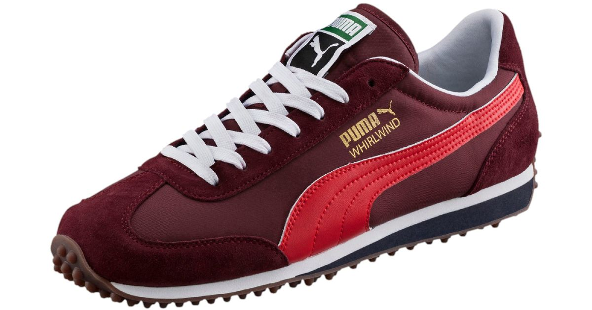 a6987ca8833 PUMA - Red Whirlwind Classic Men s Sneakers for Men - Lyst