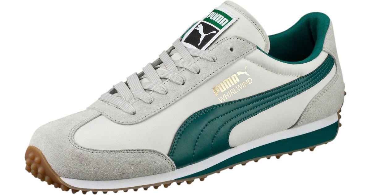 e0a36a8f732 PUMA - Green Whirlwind Classic Men s Sneakers for Men - Lyst