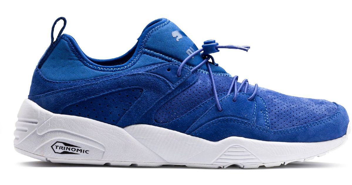 481cb28d06e Lyst - Puma Blaze Of Glory Soft in Blue for Men