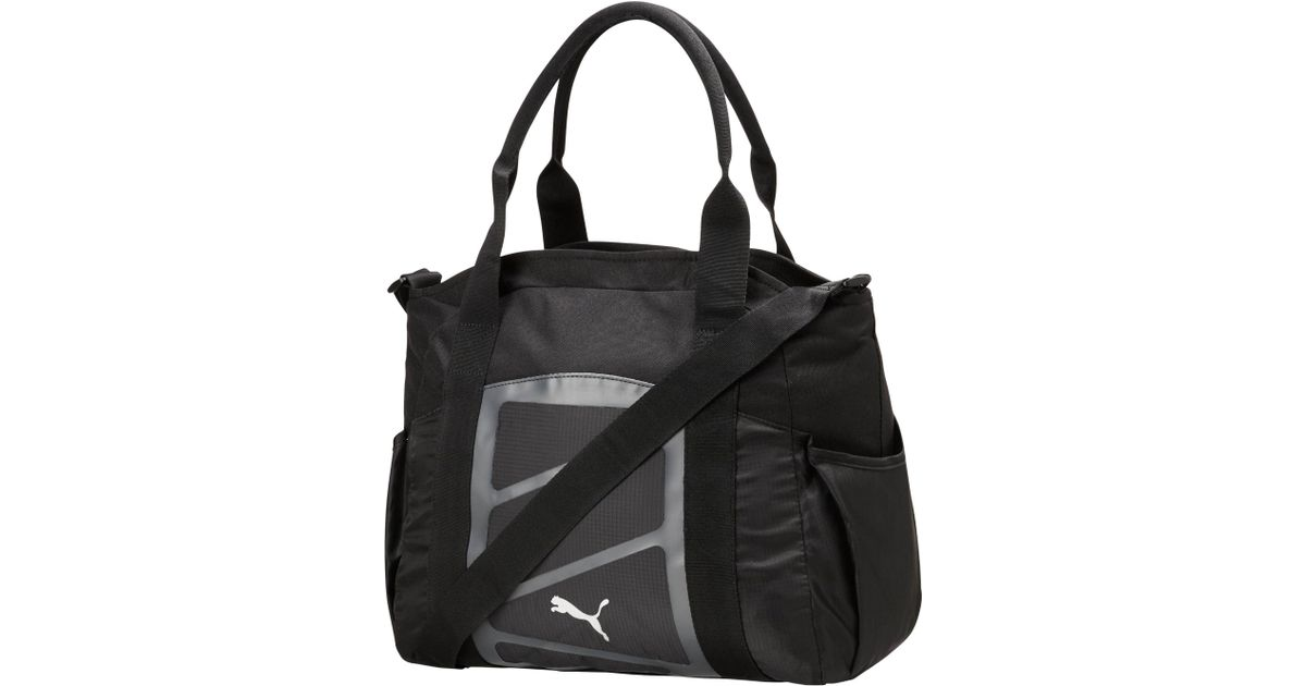 5942bf7ee5 Lyst - PUMA Alexia Tote Bag in Gray