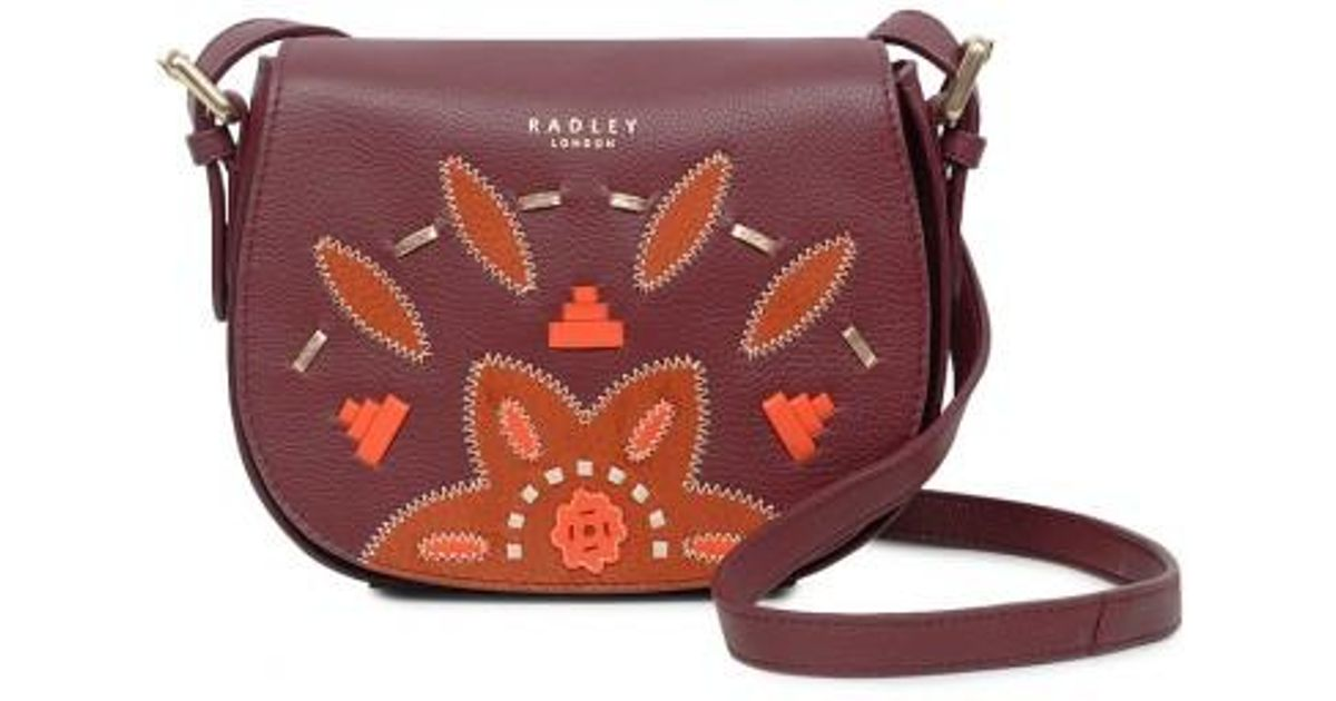 9ff6ffe70c3c3 Radley Kempton Market Small Flapover Cross Body Bag - Lyst