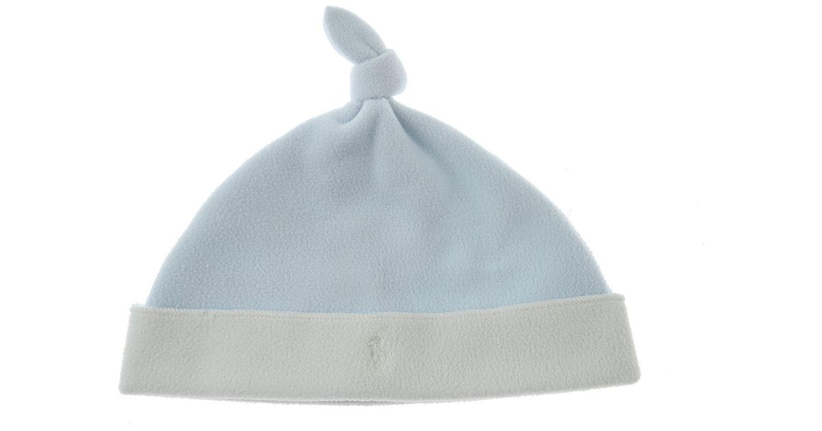 afdc323e385 Lyst - Ralph Lauren Baby Hats For Boys On Sale in Blue for Men