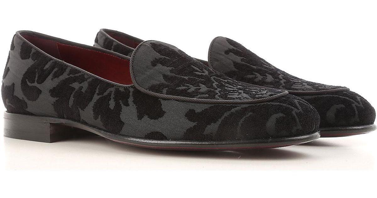 f1f5e9f9fb208 Lyst - Basket Slip on Homme Pas cher en Soldes Dolce   Gabbana pour homme  en coloris Noir