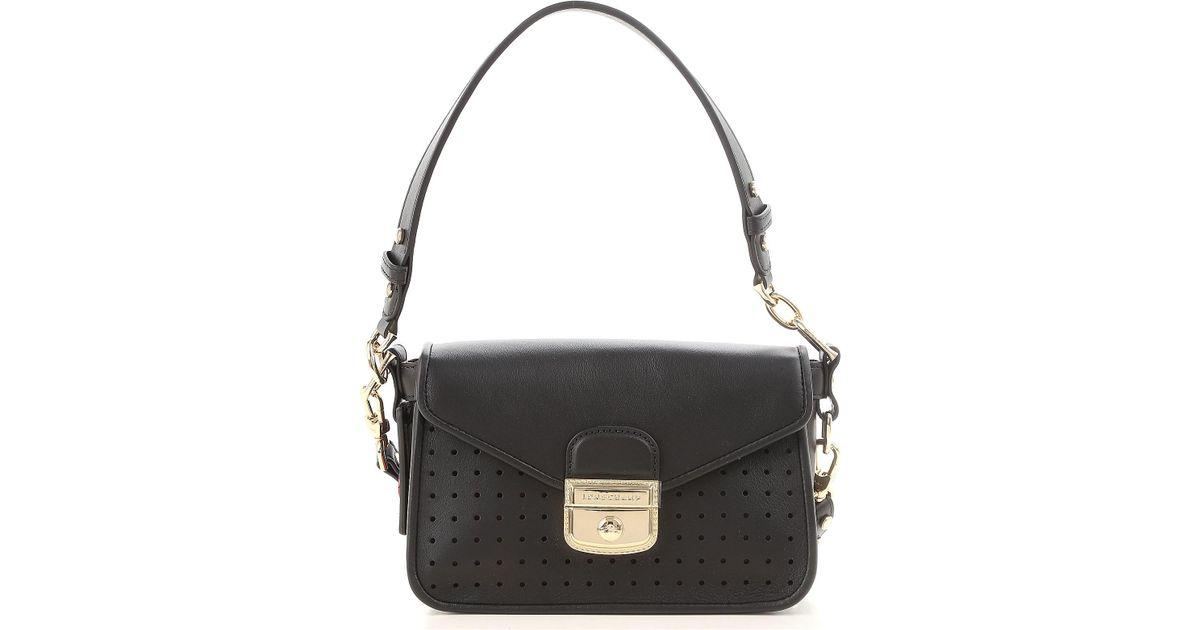 61d0bbe1cf Sac Bandoulière Femme Pas cher en Soldes Longchamp en coloris Noir - Lyst