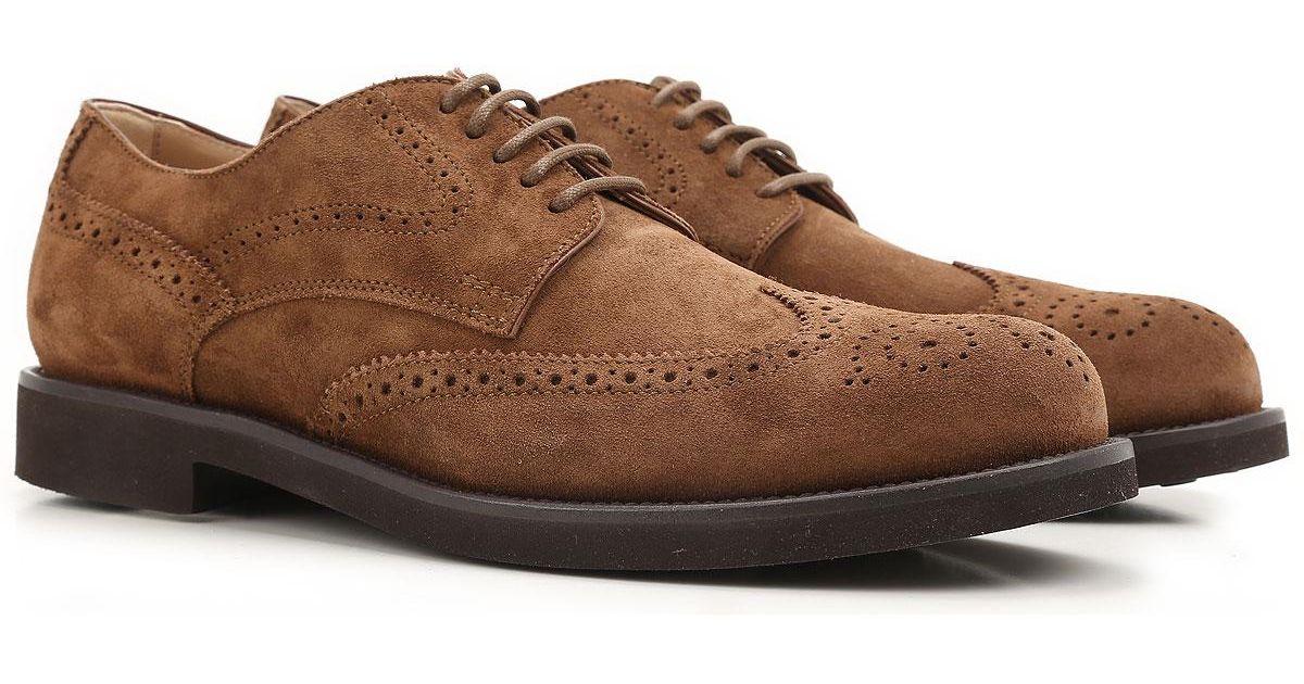 919973259d5a98 Lyst - Tod s Budapester Schuhe für Herren Günstig im Outlet Sale in Braun  für Herren