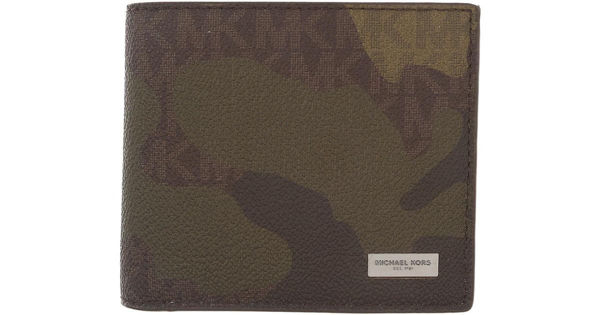 da884117cb64 Lyst - Michael Kors Wallets   Accessories For Men in Brown for Men