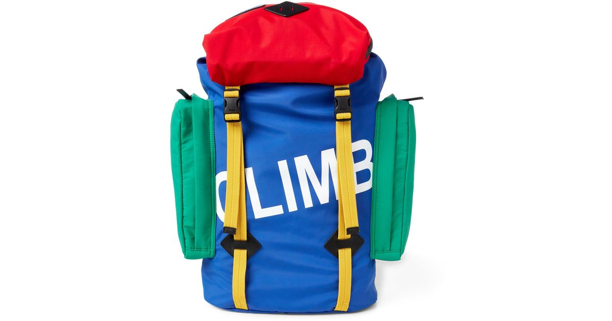 db29c5d428 Lyst - Polo Ralph Lauren Hi Tech Backpack in Blue for Men