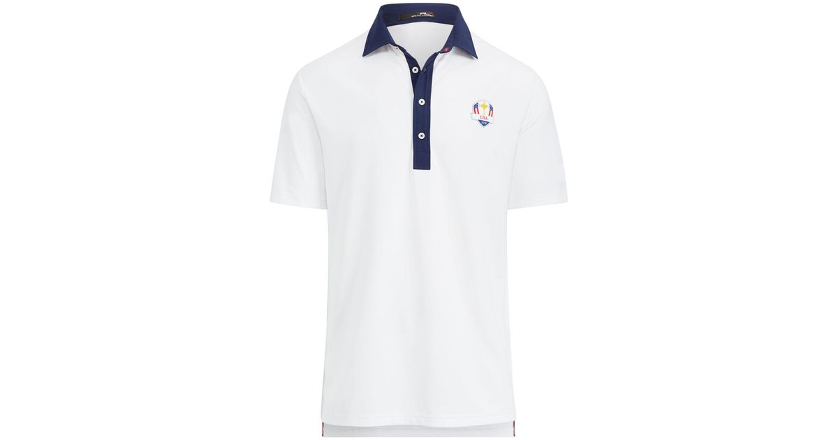 Lyst White U Polo For Ralph Lauren Team Men sRyder Cup QosxthrdCB