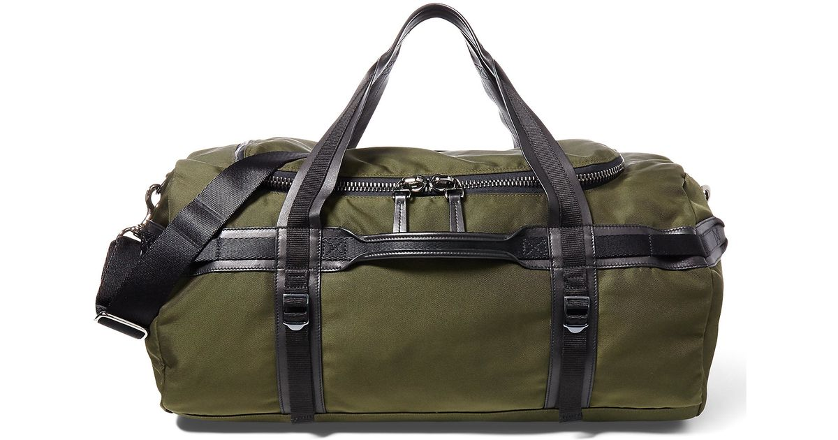 1d580982e0bd Lyst - Ralph Lauren Explorer Nylon Duffel in Green for Men